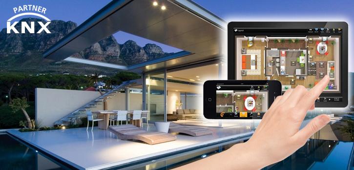 Automação predial e residencial. Controle de luminosidade, persianas, Tv's, Ar-condicionado